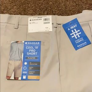 Hager cool 18 pro pleated shorts
